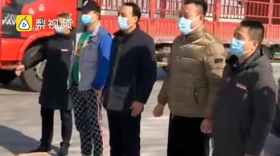 男子驱车百里捐3千口罩支援抗疫:想尽一份义务