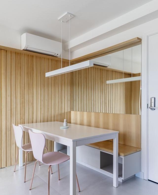 40㎡简约单身公寓,面积虽小,却藏着不少用心的设计,很实用!