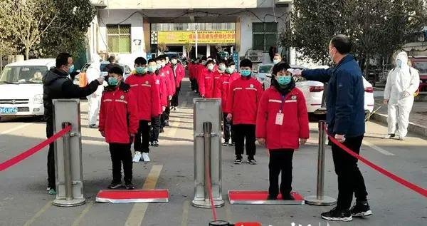 郯城县高峰头镇初级中学开展疫情防控演练活动