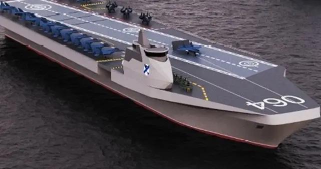 俄公布最新航母设计图,10万吨核航母或已下马,效仿英海军做法