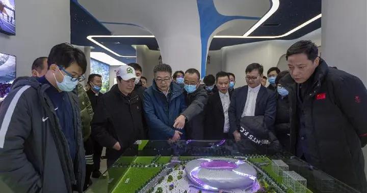 2023年亚足联亚洲杯中国组委会考察重庆赛区