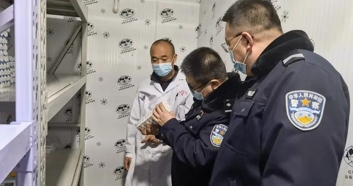 靖边县公安局对涉疫疫苗开展专项检查