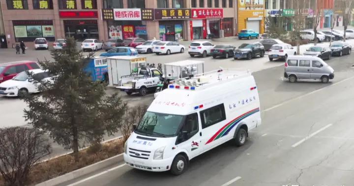 """张北县融媒体中心流动宣传车打造疫情防控新""""移动阵地"""""""