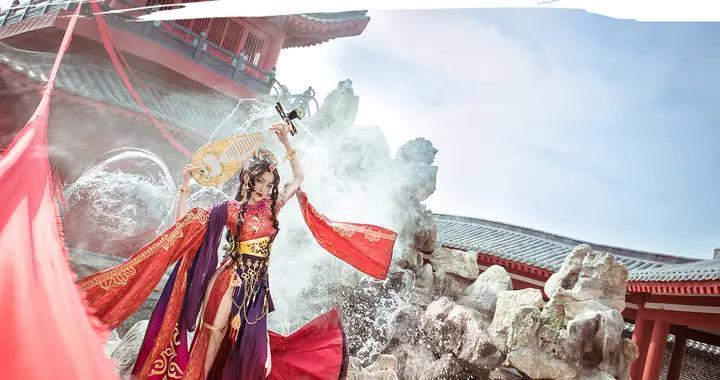剑侠情缘网络版3罗姆之舞成女cosplay