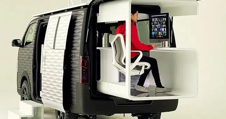 日产打造全新概念式办公车款 NV350