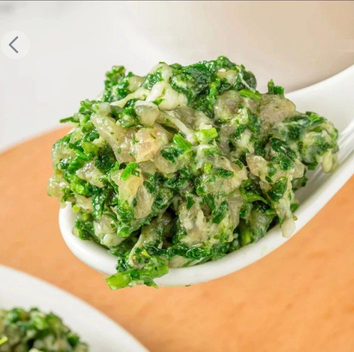 吃不厌的新雅荠菜肉馅,免洗、免切、免调料,有它皆可成大厨~