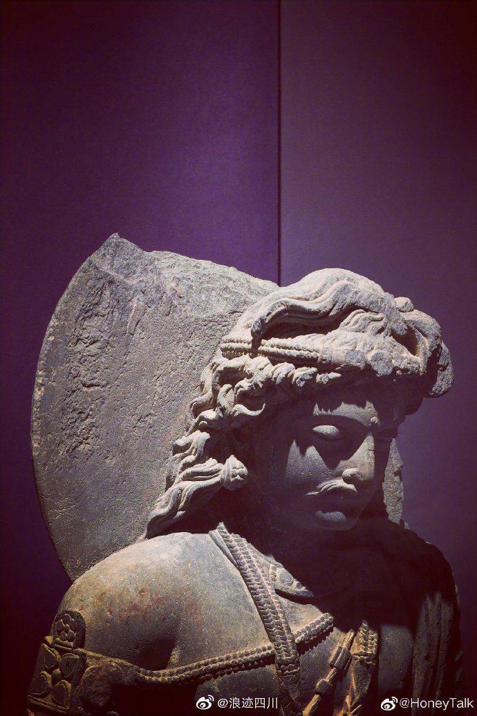 犍陀罗造像 一起感受文物之美 @四川博物院 ……