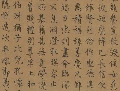 小楷书传承500多年,美到极致