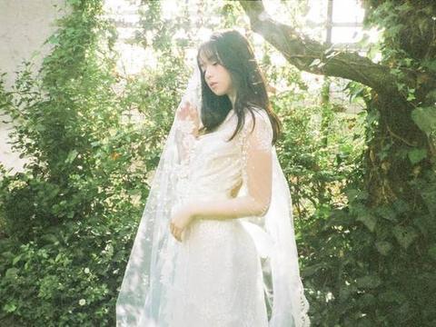 乃木坂46斋藤飞鸟,身着婚纱,虚幻的魅力