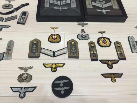 二战德国有两套军衔体系,准将和上校军衔,该怎么区分