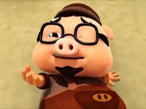 猪猪侠:冰箱都成精了,这么粗的栅栏,一下就掰开了