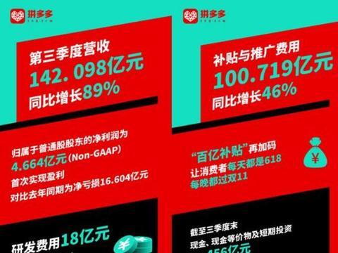 双循环战略显效内需强劲:新任CEO陈磊带领拼多多迎首个盈利季度