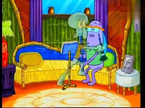 海绵宝宝:水母是漏电了吗,到处放电,真以为你是霹雳娇娃啊!