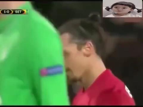 最慢任意球破门也就伊布敢这么踢,对方无奈的看着球进门