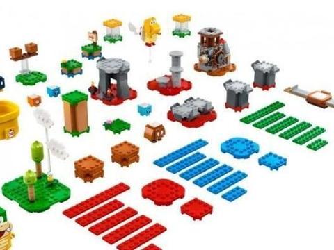 乐高LEGO推出「马里奥关卡工具箱」拼装积木套装:DIY游戏关卡