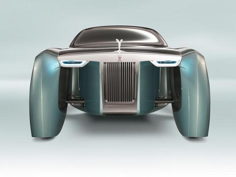 劳斯莱斯全新电动车或今年亮相 以103EX概念车为基础 酷似飞行器