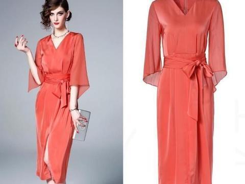 优雅通勤的茶歇裙,带点法式复古的浪漫,火遍整个时尚圈