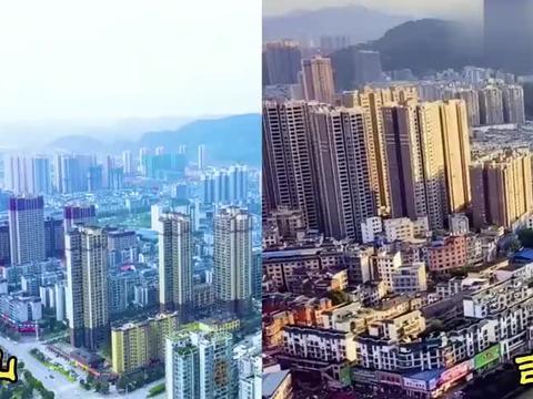 地处湘黔渝交界处的秀山和吉首,同为武陵山脉腹地城市谁更胜一筹