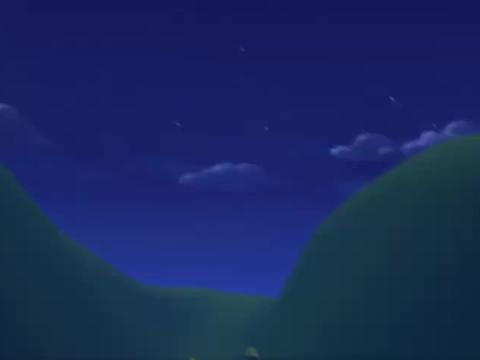 百变布鲁可:一家人外出露营,爸爸半夜梦游,单倪被吓坏了