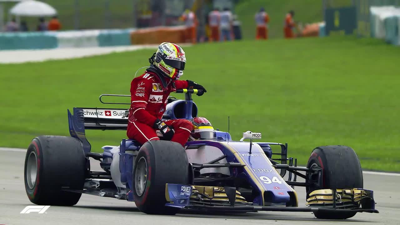 """那些年""""超载""""的F1司机们……"""