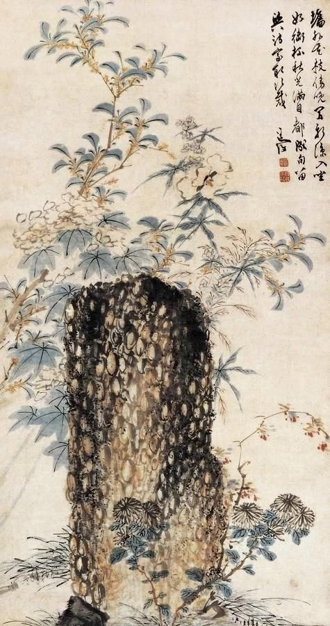 大家|陈淳的花鸟画充满着田园诗般的情境和生趣