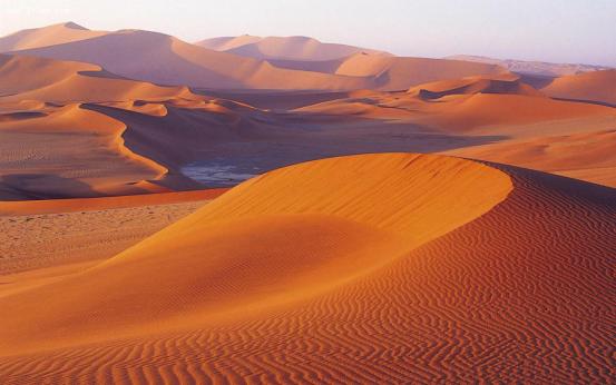 如果把撒哈拉沙漠的沙子挖空,沙子下面会发现什么?