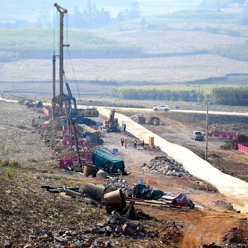 大新至凭祥高速公路项目加快建设