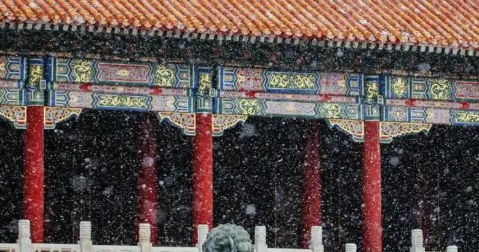 晨起开门雪满城!北京2021第一场雪浪漫派送中
