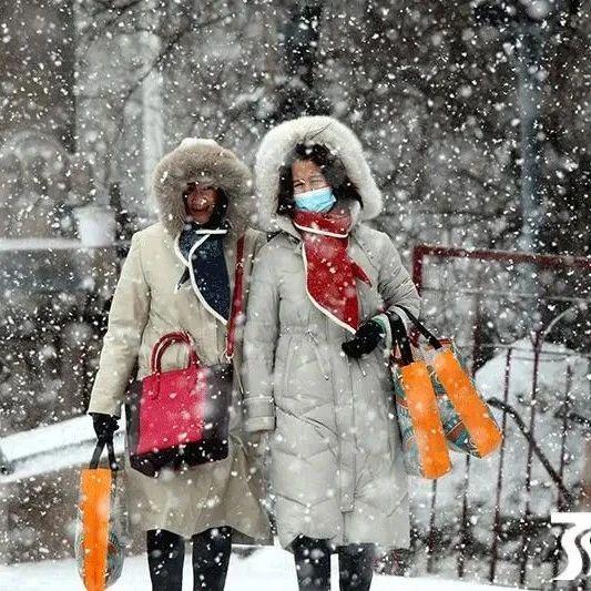 降雪!强冷空气已在路上!