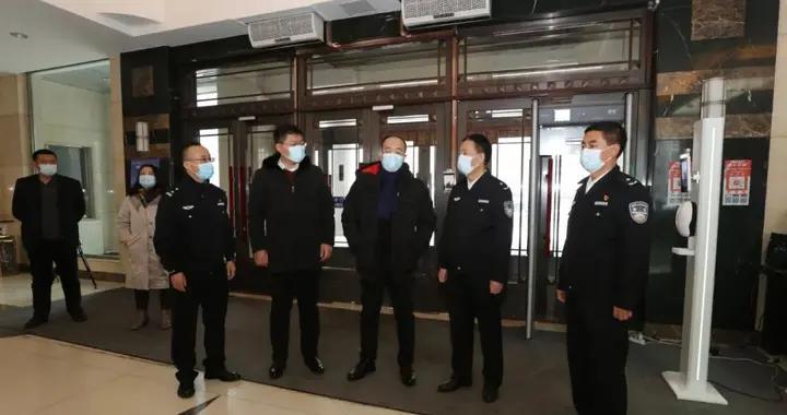 「抗击疫情我在岗」中国农业银行白山分行向白山市公安局捐赠物资