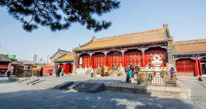"""中国""""第二故宫"""",位于辽宁沈阳,是满清入关前的""""紫禁城"""""""