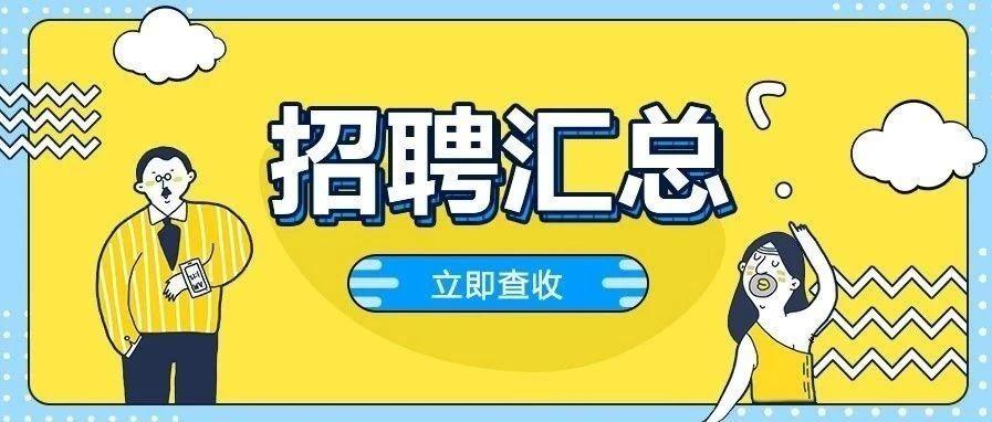 公告速递   今日招聘591人,稳定有编制!