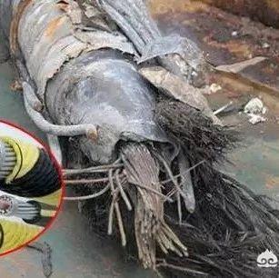 全球那么多的海底电缆,船只、潜水艇等都不会刮到吗?