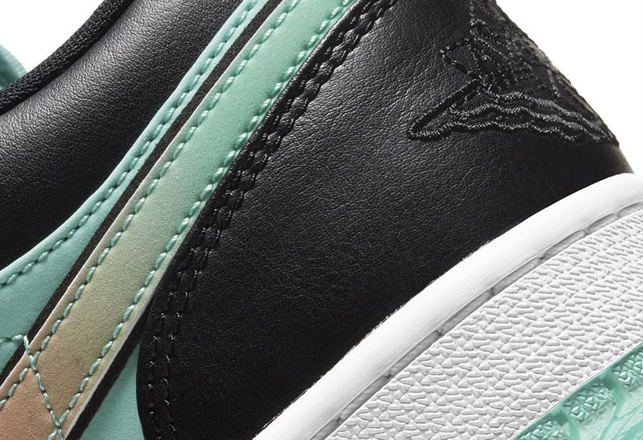 酷似天价钻石联名鞋!Air Jordan 1 low SE 全新配色官图释出!
