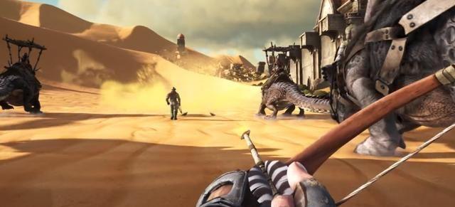 Steam沙盒游戏排行榜,《方舟生存进化》的故事从一颗陨石开始