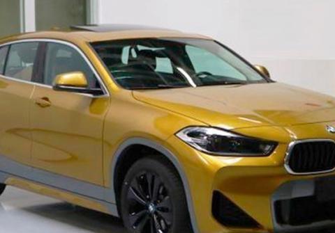 新款国产宝马X2实拍 新车继续提供两款发动机