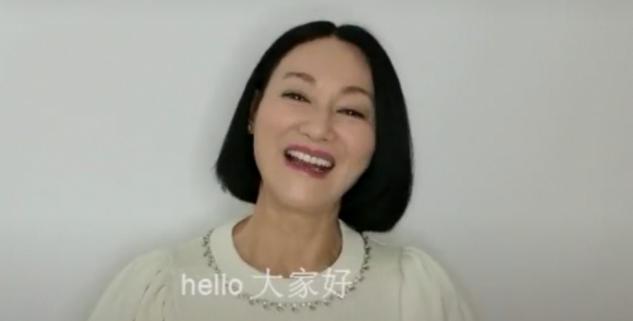 60岁惠英红近况,面色暗黄脸颊凹陷,脖子皮肤凹凸暴露真实年龄