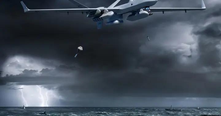 全球第一架反潜无人机试飞,带声呐浮标和雷达,让潜艇无处匿踪