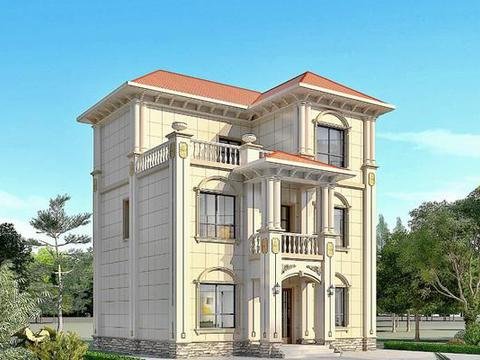 90~120平的别墅设计图纸,中式欧式都有,看看哪款更适合?