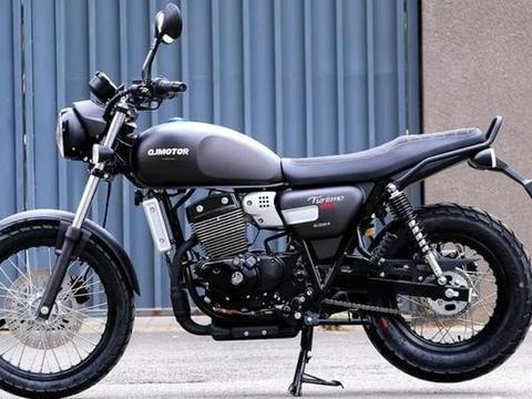 解析1.6万的QJ复古新车:双缸油冷250cc