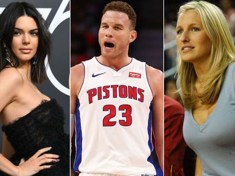 32岁格里芬严重滑坡!NBA花心男,1年半换5任女友,新欢又曝光
