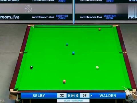 苏格兰公开赛:沃顿绝佳准度太无敌,直接让塞尔比没法磨!