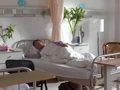 薛素梅来医院给李葵爸送饭,结果被小护士调侃,以为两人是夫妻呢