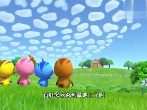 萌鸡小队:萌鸡们想和小绵羊玩耍,它们被小绵羊当成了只怪物!