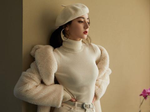 入手一顶帅气的贝雷帽,给你的冬日穿搭增添优雅气质,洋气时尚