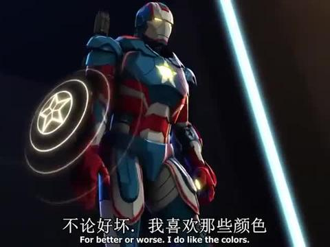 美国队长第一次穿上爱国者钢铁战甲,对战的人居然是绿巨人!