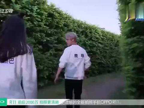鹿晗顺利找到李晨的画像,迪丽热巴出发寻找橡皮,却偶遇大黑牛