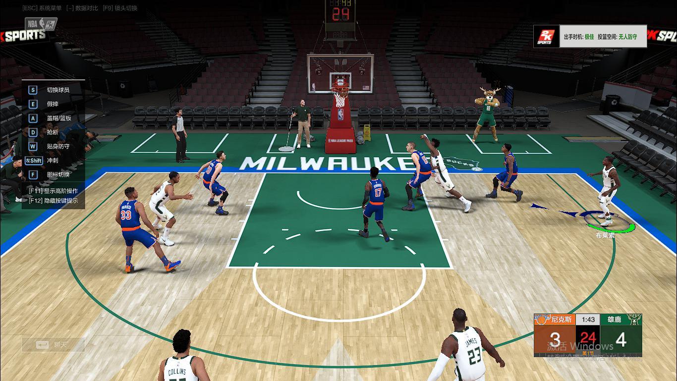 NBA2K2:利拉德命中率超五十,能力数值却没变?怀疑被官方暗改