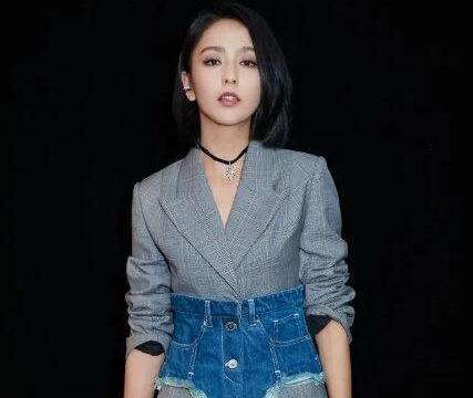 关之琳:美人在骨又在皮,格纹西装配黑牛仔裤知性干练,时髦高级
