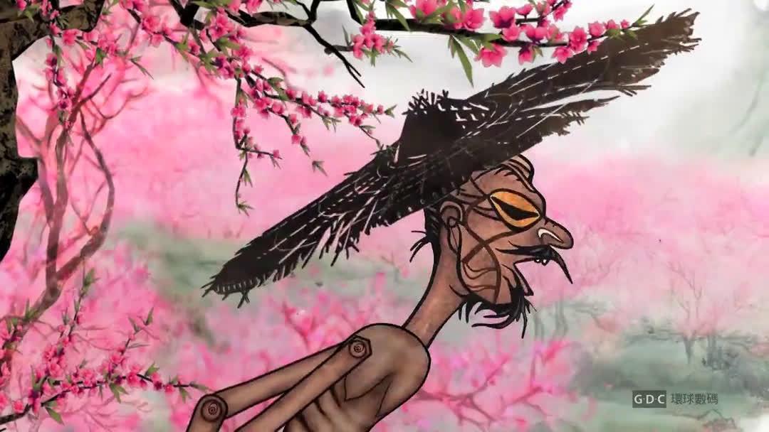 获奖中国风水墨动画「桃花源记」……